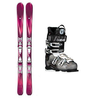 Salomon Cira Avanti 70 Womens Ski Package, , viewer