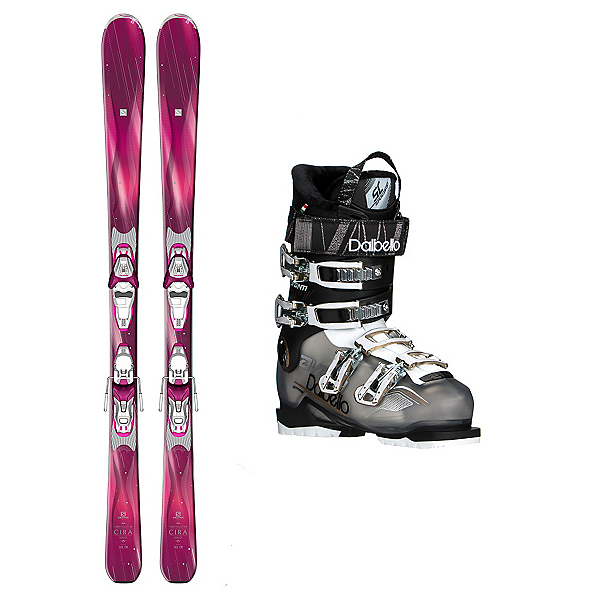 Salomon Cira Avanti 70 Womens Ski Package, , 600