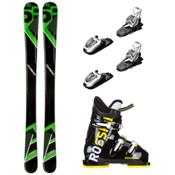 5th Element Green Machine Comp J3 Kids Ski Package, , medium