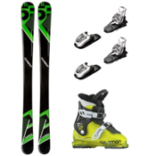 5th Element Green Machine T2 RT Kids Ski Package, , medium