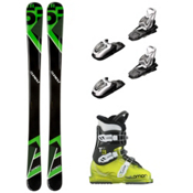 5th Element Green Machine T3 RT Kids Ski Package, , medium