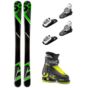 5th Element Green Machine Idea Up Kids Ski Package, , medium