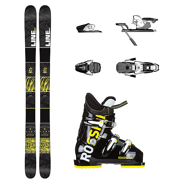 Line Gizmo Comp J3 Kids Ski Package, , 600