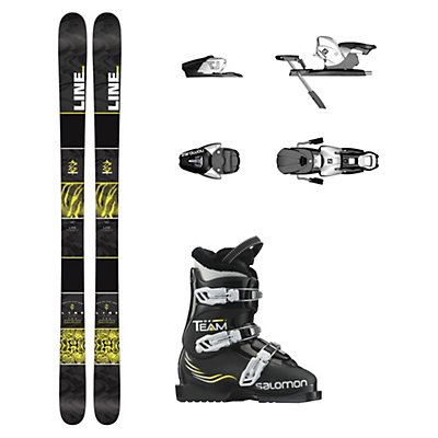 Line Gizmo Team T3 Kids Ski Package, , viewer