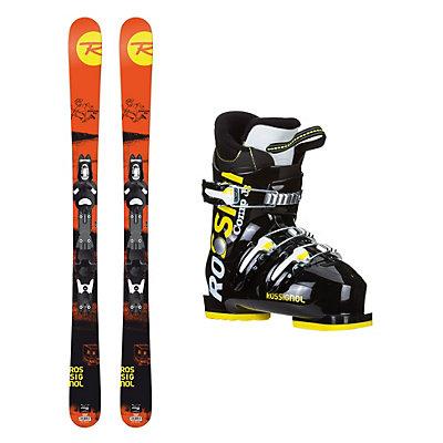 Rossignol Sprayer Pro Comp J3 Kids Ski Package, , viewer
