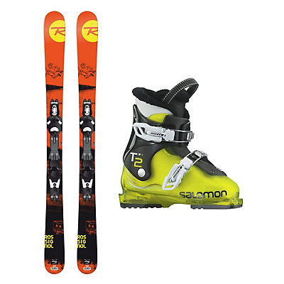 Rossignol Sprayer Pro T2 RT Kids Ski Package, , viewer