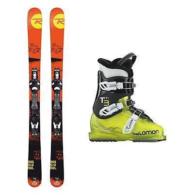 Rossignol Sprayer Pro T3 RT Kids Ski Package, , viewer