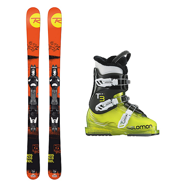 Rossignol Sprayer Pro T3 RT Kids Ski Package, , 600