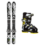 K2 Indy Comp J3 Kids Ski Package 2017, , medium