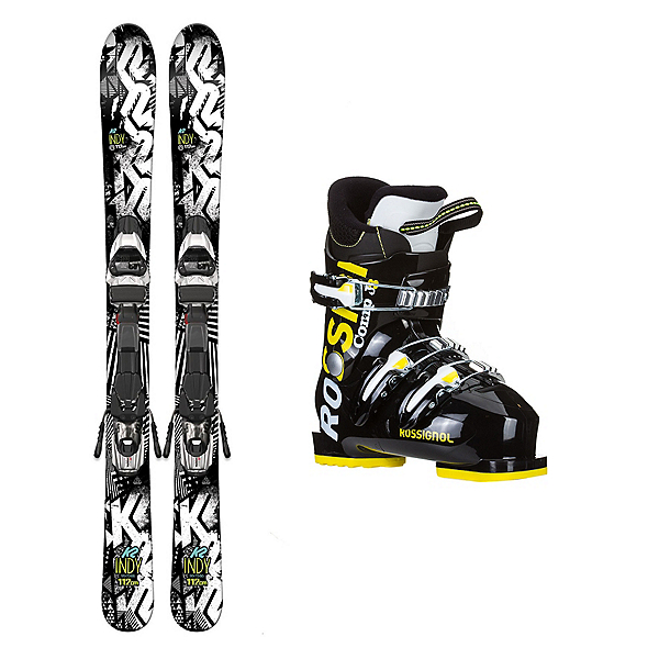 K2 Indy Comp J3 Kids Ski Package 2017, , 600