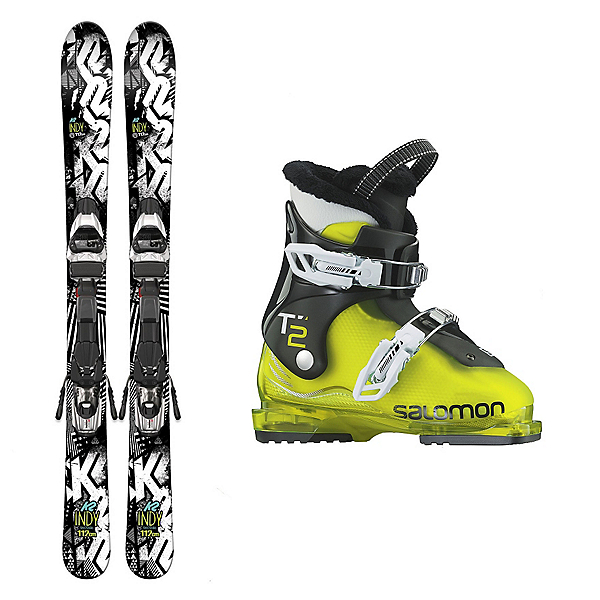 K2 Indy T2 RT Kids Ski Package 2017, , 600