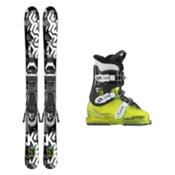 K2 Indy T3 RT Kids Ski Package 2017, , medium