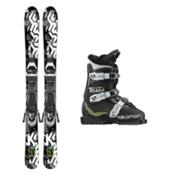 K2 Indy Team T3 Kids Ski Package 2017, , medium