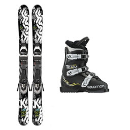 K2 Indy Team T3 Kids Ski Package 2017, , 256