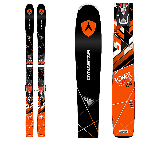Dynastar Powertrack 84 Skis with SPX Fluid 12 Bindings 2017, , 600