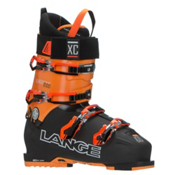Lange XC 100 Ski Boots 2017, Black-Orange, medium