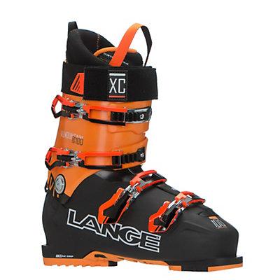 Lange XC 100 Ski Boots 2017, Black-Orange, viewer