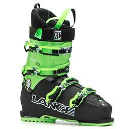 Lange XC 90 Ski Boots 2017, Black-Green, 256