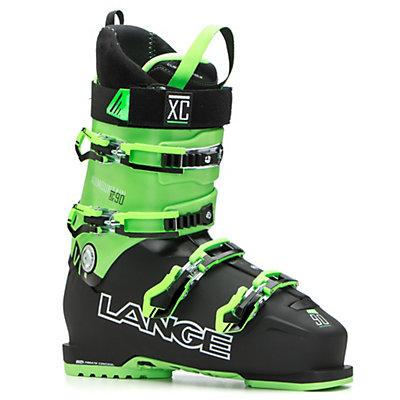 Lange XC 90 Ski Boots 2017, Black-Green, viewer