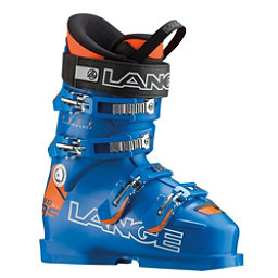 Lange RS 90 SC Junior Race Ski Boots 2017, Powder Blue, 256