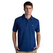 Fish Hippie Salterpath Polo Mens Shirt, Midnight Blue, medium