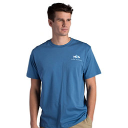 Fish Hippie Original Tarpon Mens T-Shirt, Slate, 256