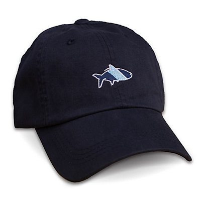 Fish Hippie Sport Cap, Navy, viewer