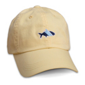 Fish Hippie Sport Cap Hat, Yellow, medium