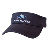 Fish Hippie Sort Visor, Navy, medium
