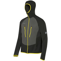 Mammut Aenergy Light ML Hooded Jacket Mens Mid Layer, Graphite-Titanium, 256