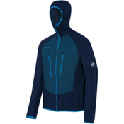 Mammut Aenergy Light ML Hooded Jacket Mens Mid Layer, Marine-Orion, medium