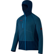 Mammut Aconcagua Pro Hooded Jacket Mens Mid Layer, Marine-Orion, medium