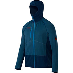 Mammut Aconcagua Pro Hooded Jacket Mens Mid Layer, Marine-Orion, 256