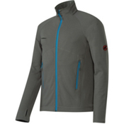 Mammut Aconcagua Jacket Mens Mid Layer, Titanium, medium