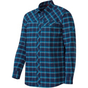 Mammut Trovat Advanced Mens Flannel Shirt, Marine-Atlantic, medium