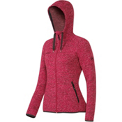 Mammut Kira Tour ML Hooded Womens Jacket, Crimson, medium