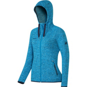 Mammut Kira Tour ML Hooded Womens Jacket, Atlantic, medium