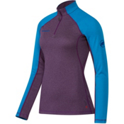 Mammut Kira Pro Half Zip Womens Mid Layer, Velvet-Atlantic, medium