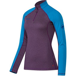 Mammut Kira Pro Half Zip Womens Mid Layer, Velvet-Atlantic, 256