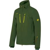 Mammut Stoney HS Mens Shell Ski Jacket, Seaweed, medium