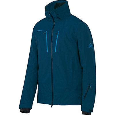 Mammut Stoney HS Mens Shell Ski Jacket, Seaweed, viewer