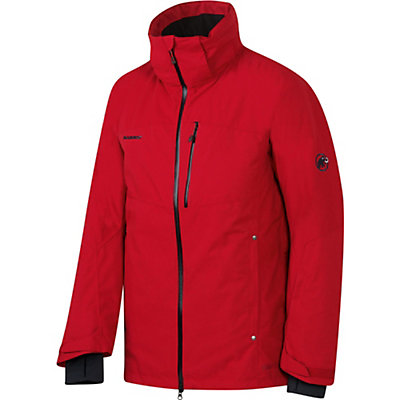Mammut Cruise HS Mens Insulated Ski Jacket, Lava, viewer