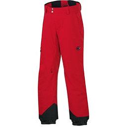 Mammut Bormio HS Mens Ski Pants, Lava, 256