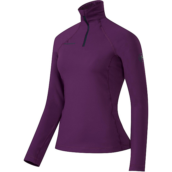Mammut Snow ML Half Zip Womens Mid Layer, Velvet, 600