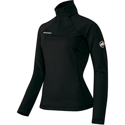 Mammut Snow ML Half Zip Womens Mid Layer, Black, viewer