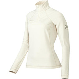 Mammut Snow ML Half Zip Womens Mid Layer, Stone White, 256