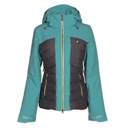 Orage Jasmine Womens Insulated Ski Jacket, Light Lagoon, 256
