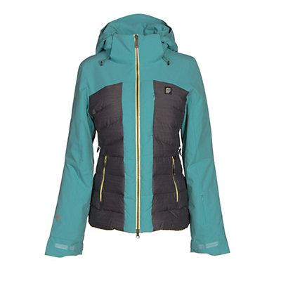 Orage Jasmine Womens Insulated Ski Jacket, Light Lagoon, viewer