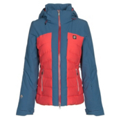 Orage Jasmine Womens Insulated Ski Jacket, Blush, medium