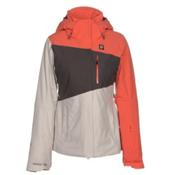 Orage Nina Womens Insulated Ski Jacket, Guava, medium